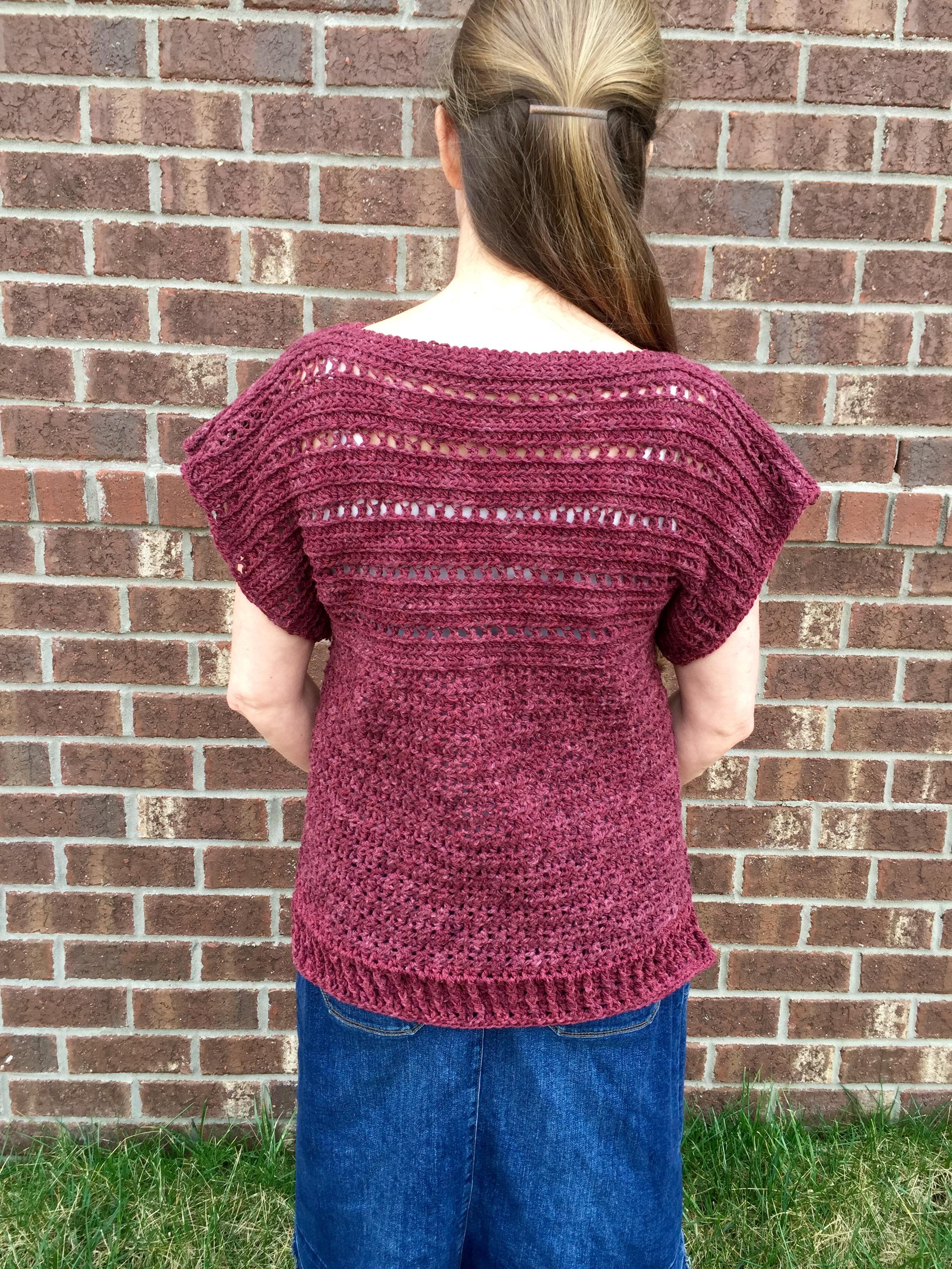 Pullover Crochet Pattern For Girls Women Little Monkeys