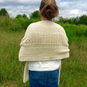 wrapped around shoulder crochet pattern women