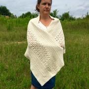 shoulder wrapper crochet pattern by little monkeys designs