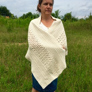 shoulder wrapper crochet pattern by little monkeys designs