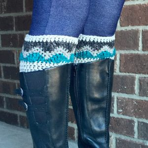 Alpine Boot Cuffs Crochet Pattern