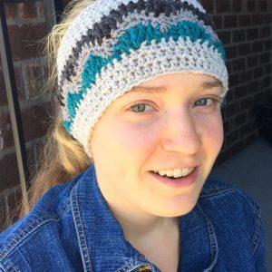 Alpine Ear warmer Crochet Pattern