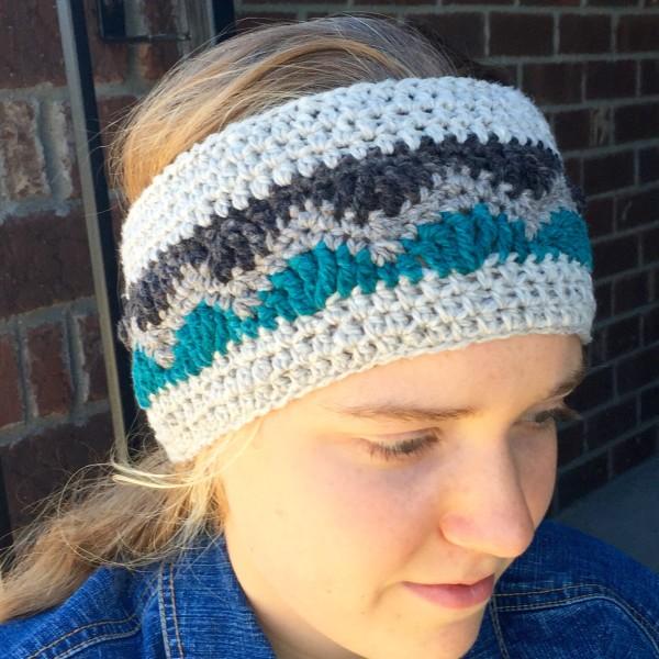 Crochet Pattern Alpine Ear Warmer To Fit Toddlers