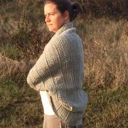 Angela's Shrug crochet pattern for women