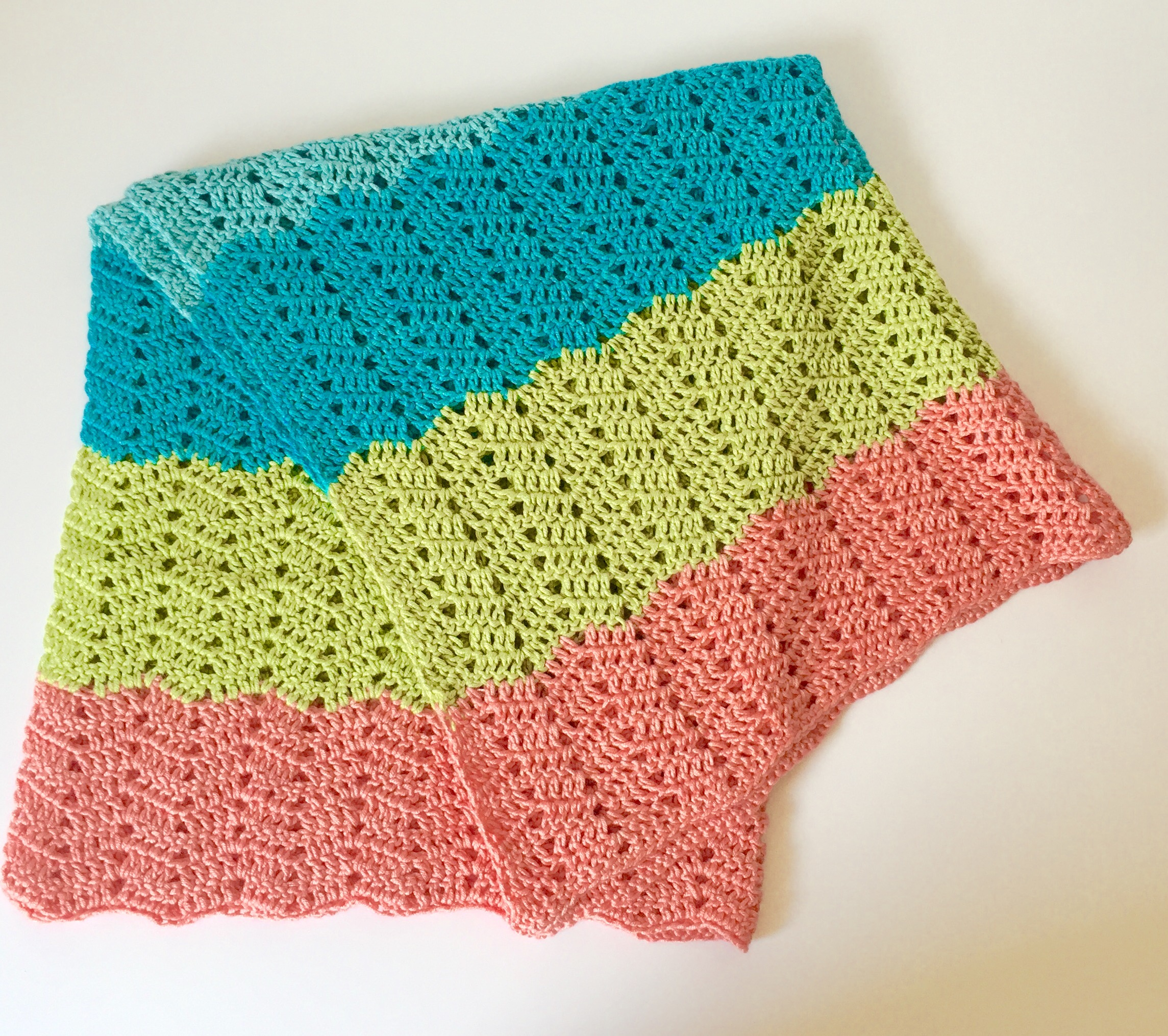 Crochet Pattern Quot Beach Baby Quot Baby Blanket