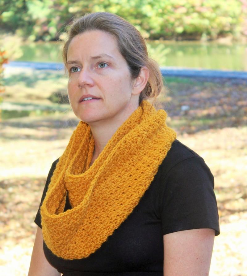 crochet pattern scarf for women