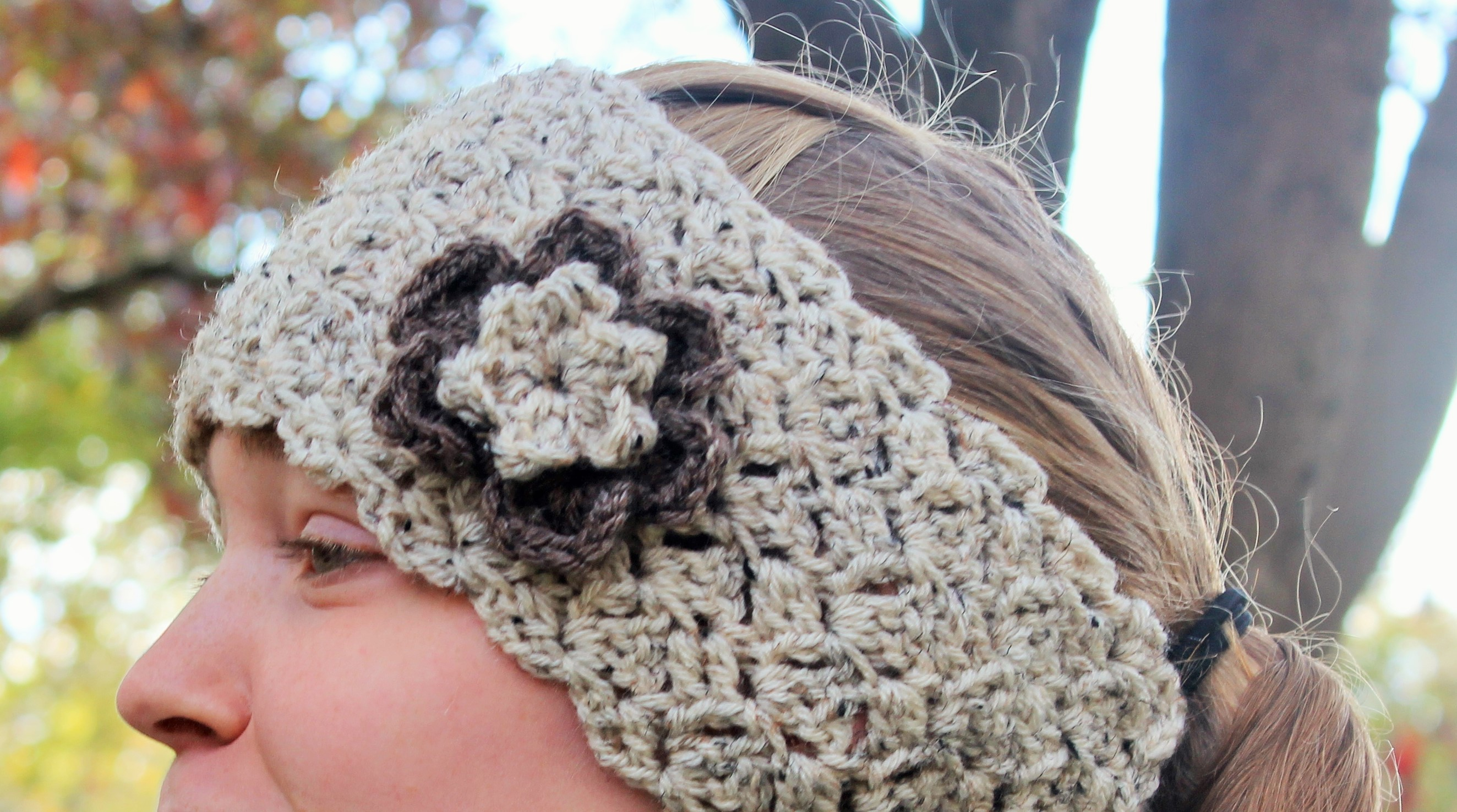 Crochet Pattern - Queens Lace Ear Warmer to fit Toddlers ...