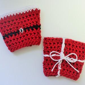 crochet pattern coffee sleeve little monkeys designs