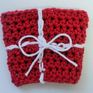 crochet pattern coffee sleeve little monkeys designs gift