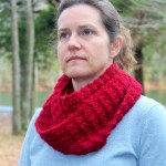 crochet pattern scarf women marian little monkeys designs red wool