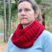 crochet pattern scarf women marian little monkeys designs red wool
