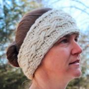 cable stitch crochet pattern ear wamer