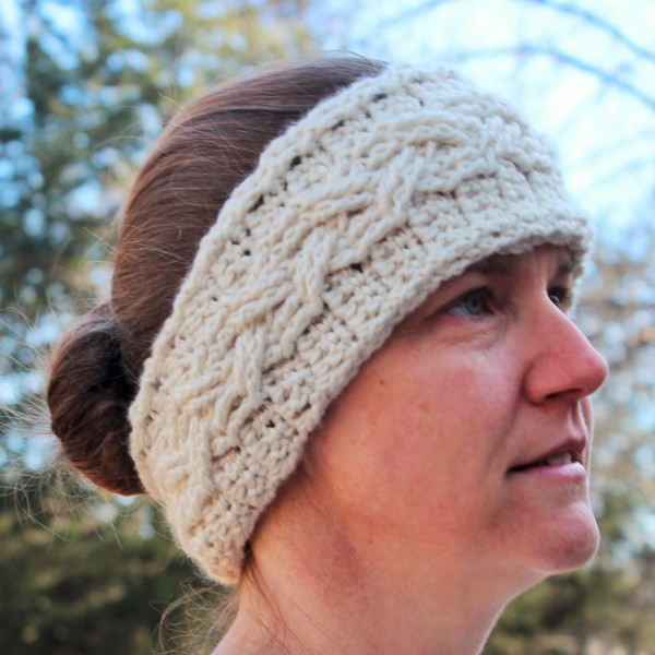Crochet Pattern - Cozy Cable Ear Warmer to fit Toddlers ...