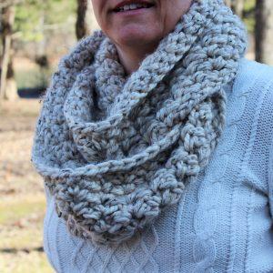 crochet pattern womens scarf little monkeys designs emmas chunky scarf oatmeal