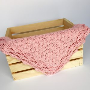 Shells Baby Blanket crochet pattern by Little Monkeys Designs