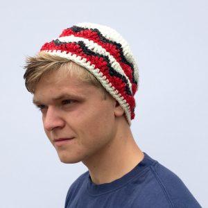 Alpine hat crochet pattern by little monkeys designs