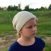 crochet pattern hat little monkeys designs flowers and leaves knit look