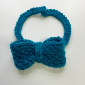 Dressy Bow Tie crochet pattern by Little Monkeys Designs
