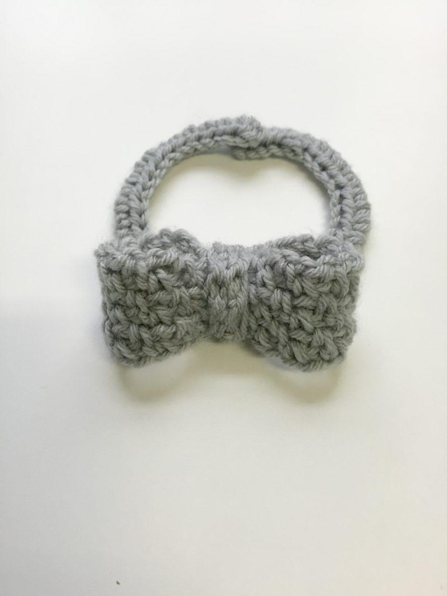 Dressy Bow Tie Crochet Pattern By Little Monkeys Designs