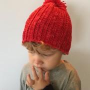 little monkeys designs in mountain meadow wool hat
