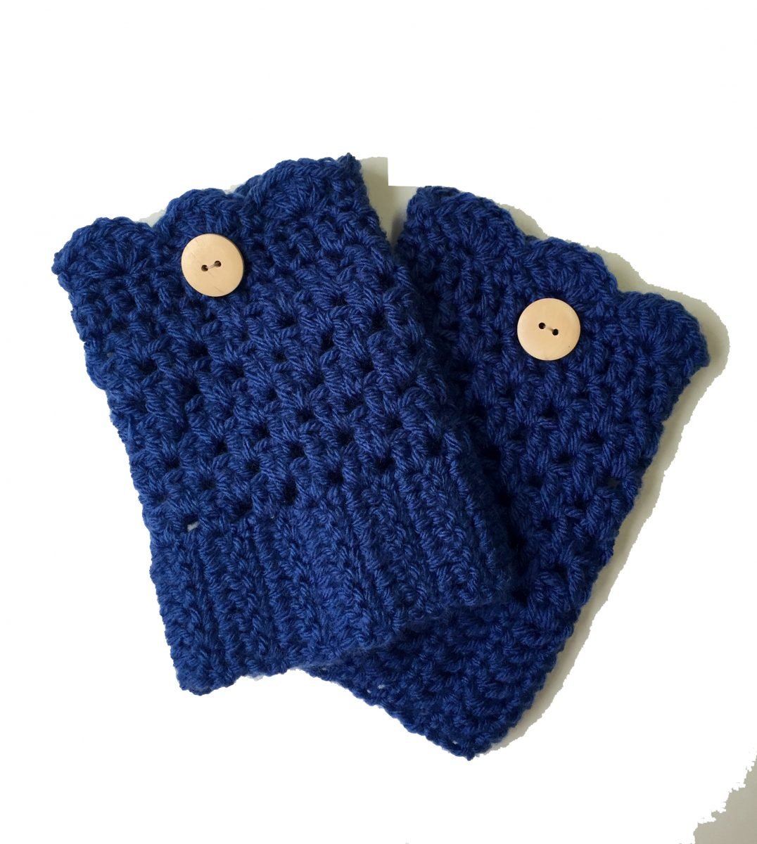 grace boot cuffs with whte