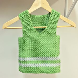 sweet pea vest crochet pattern