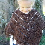 crochet pattern boho poncho for girls