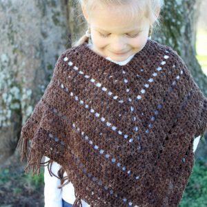 crochet pattern boho poncho for girls