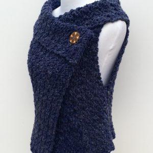 Chunky Vest crochet pattern adult size
