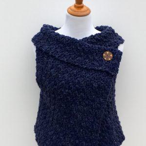 Chunky Vest crochet pattern child - adult sizes