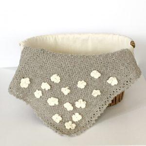 Flower Basket Baby Blanket crochet pattern by Little Monkeys Designs