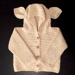 baby cardigan crochet pattern 12, 18, 24 month sizes