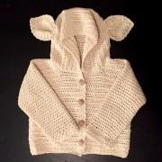 baby cardigan crochet pattern 12, 18, 24 month sizes