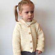 baby cardigan crochet pattern organic cotton