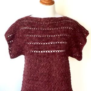 crochet pattern pullover littlemonkey's designs