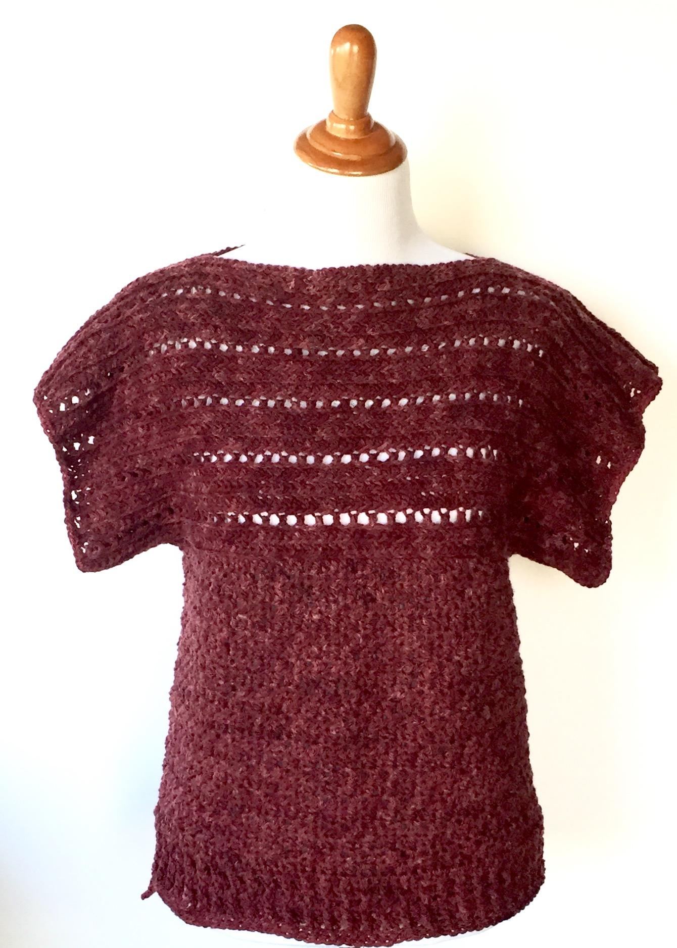 Xl Crochet Patterns : Home / Crochet Patterns / Ponchos/Shawls Crochet Patterns / Ruth ...