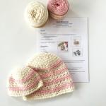 baby hat crochet kit