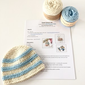 baby hat crochet kit