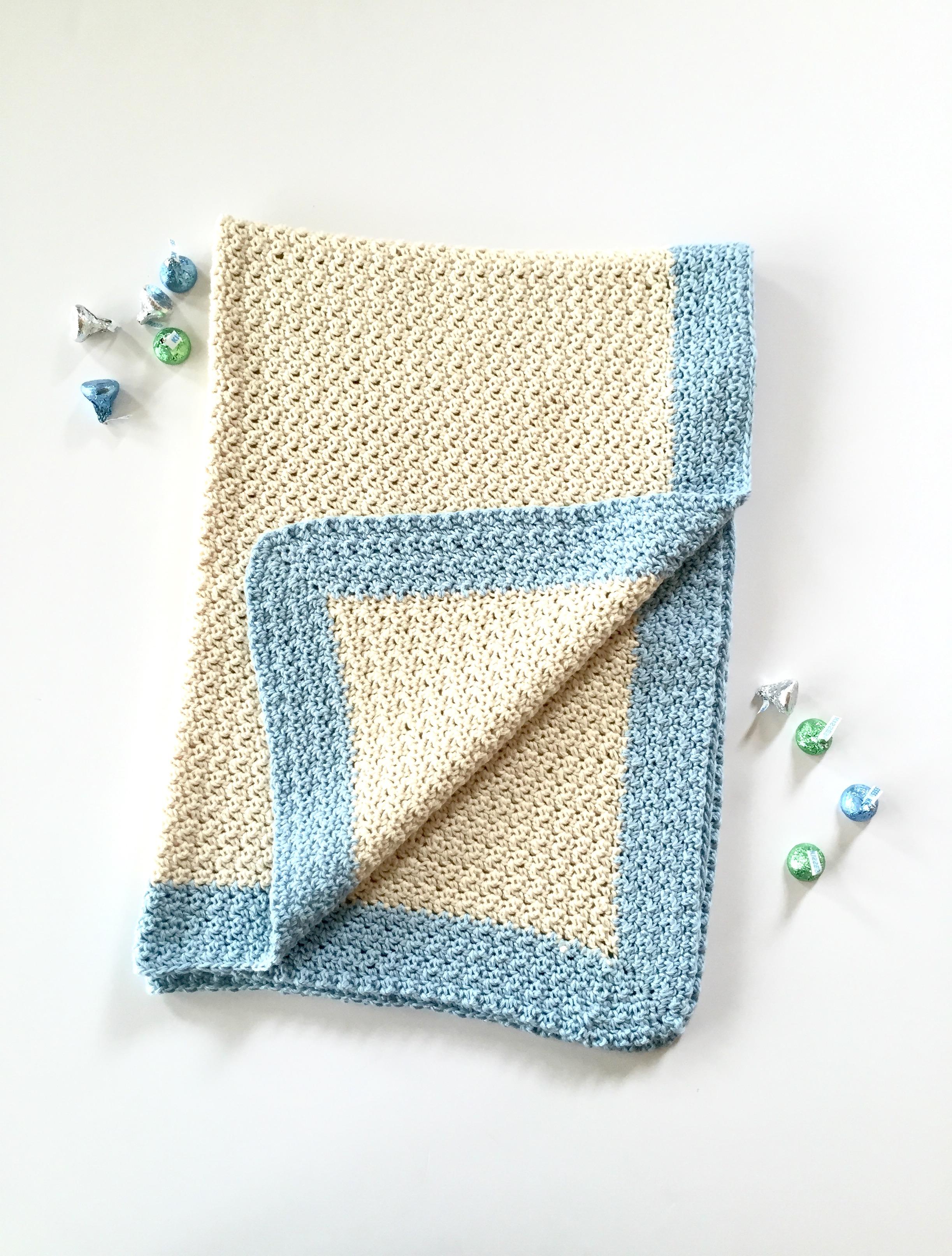 Baby Blanket Crochet Pattern Kit By Little Monkeys Design