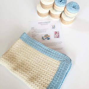 Baby Blanket Crochet Pattern Kit