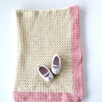 organic cotton baby blanket crochet pattern kit