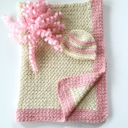 organic cotton baby hat baby blanket