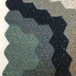 Chunky baby blanket crochet pattern by Little Monkeys Design.