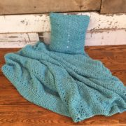 Cozy comforts blanket crochet pattern in bulky yarn