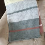 Dream Weaver blanket crochet pattern in chunky merino.