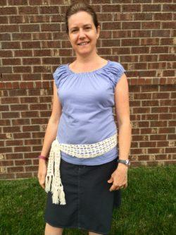 Cree crochet pattern boho scarf or sash