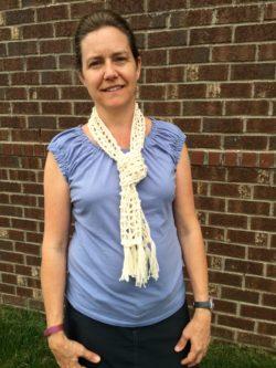Boho summer scarf free crochet pattern