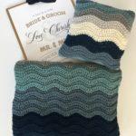 wedding blanket crochet pattern in merino wool. Merino blanket ready for purchase from Little Monkeys Design.