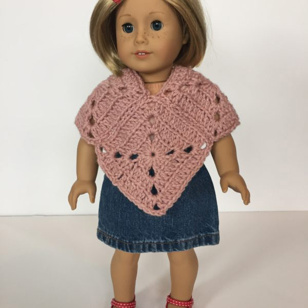 Meadow Doll Poncho Crochet Pattern By Little Monkeys Design