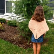 This easy poncho crochet pattern for the Meadow Poncho is a cute poncho to crochet for the cold weather ahead.